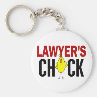 Lawyer s Chick Keychain
