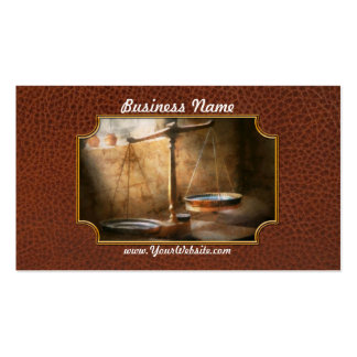 Lawyer - Scale - Balanced law Business Card Templates