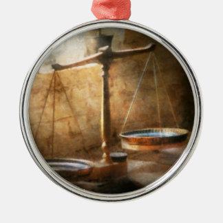 Lawyer - Scale - Balanced law Christmas Ornament