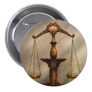 Lawyer - Scale - Fair and Just Buttons
