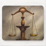 Lawyer - Scale - Fair and Just Mousepad