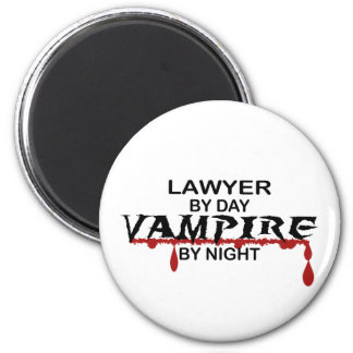 Lawyer Vampire by Night Magnet
