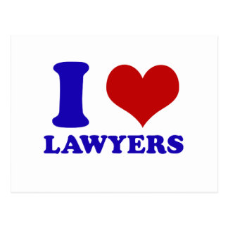 Lawyers design postcard