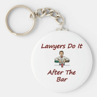 Lawyers Do It After The Bar Key Ring
