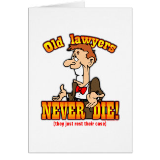 Lawyers Greeting Card
