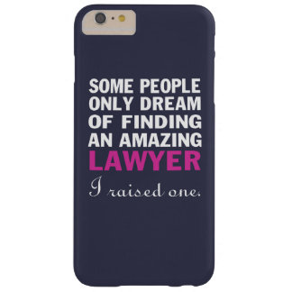 LAWYER'S MOM BARELY THERE iPhone 6 PLUS CASE