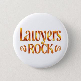Lawyers Rock 6 Cm Round Badge