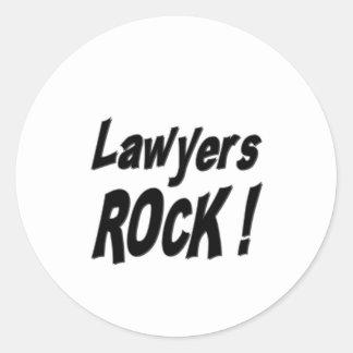 Lawyers Rock! Sticker