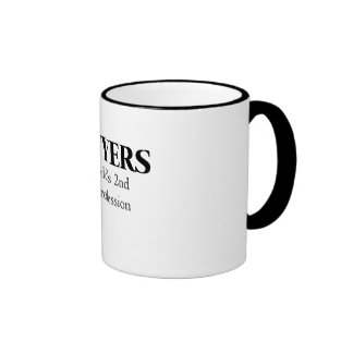 Lawyers the world s 2nd oldest profession coffee mugs