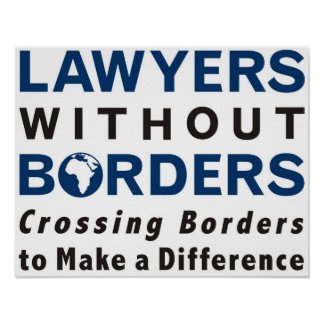 Lawyers Without Borders - Africa Poster