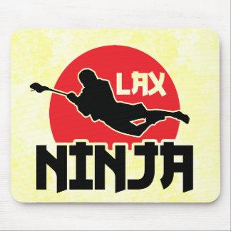 LAX Ninja Lacrosse Mousemat Mouse Pad