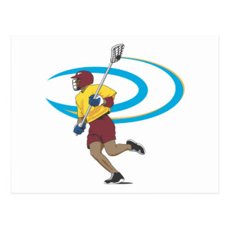 LAX Player Post Card