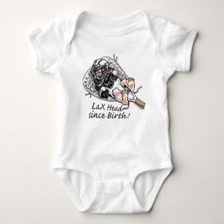 Laxhead_born_zazzle Baby Bodysuit