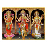 Laxmi Durga Saraswati Poster