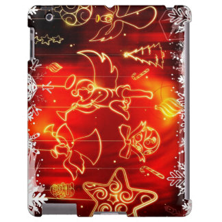 """Layer for iPad 2/3/4 """"Angels of Christmas """" iPad Case"""