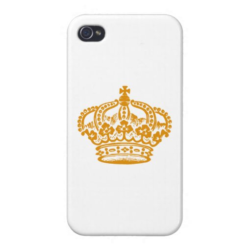 Layer for iPhone 4 Crown of Princess iPhone 4/4S Case