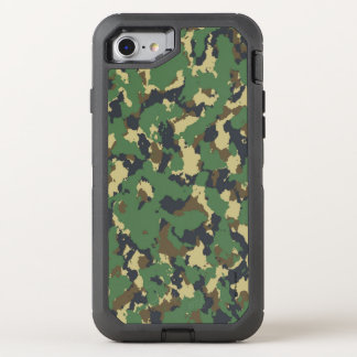 Layer green Camouflage OtterBox Defender iPhone 8/7 Case