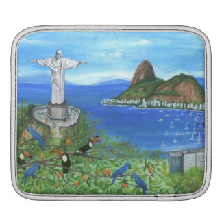 Layer Ipad Rio De Janeiro iPad Sleeves
