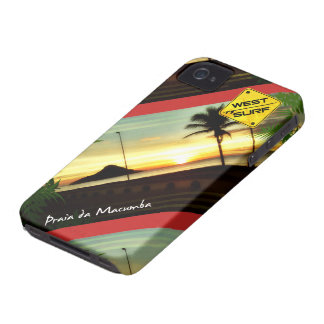 Layer iPhone 4 Beach of the Macumba iPhone 4 Cover