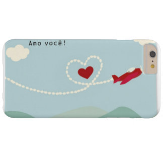 Layer Iphone 6 - I love You Barely There iPhone 6 Plus Case