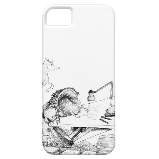 Layer of Cellular Limb in requadros iPhone 5 Cases
