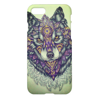 Layer of cellular wolf iPhone 7 case