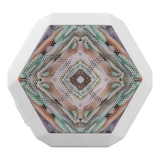 Layered Abstract River Rocks White Boombot Rex Bluetooth Speaker