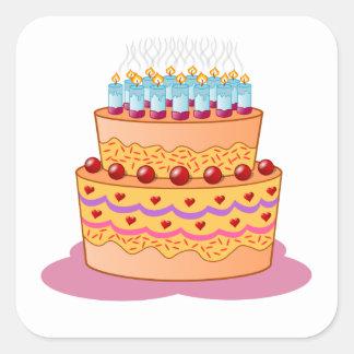Layered Cake Stickers