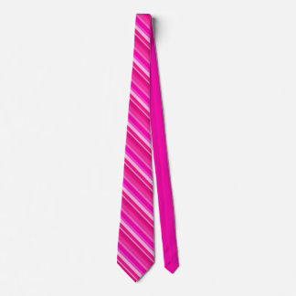 Layered candy stripes - pink and fuchsia tie