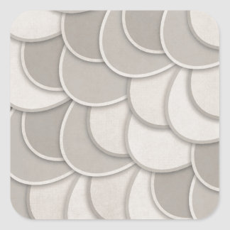 Layered Gray Circles Stickers