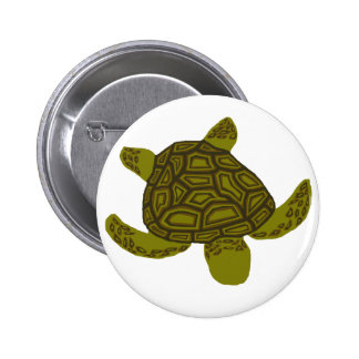 Layered Honu sea turtle button