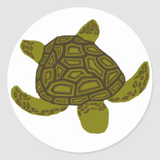 Layered Honu sea turtle stickers