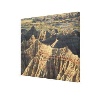 Layered Hoodoos of the Badlands Canvas Print