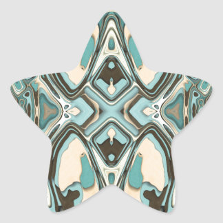 Layers of Abstract 1 Star Sticker