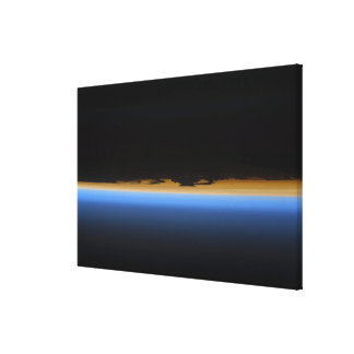 Layers of Earth's atmosphere Canvas Print