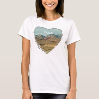 Layers of Red Rock; Nevada Souvenir T-Shirt