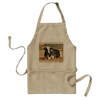 Laying Cow Apron