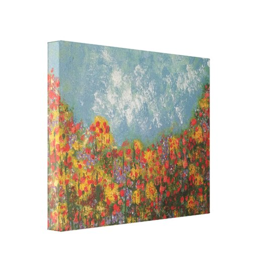 'Laying in a Meadow'. Canvas Print