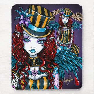 """Layla"" Gothic Fairy Circus Tattoo Sideshow Mouse Mat"