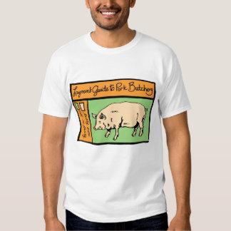 Layman's Guide to Pork Butchery Tee Shirt