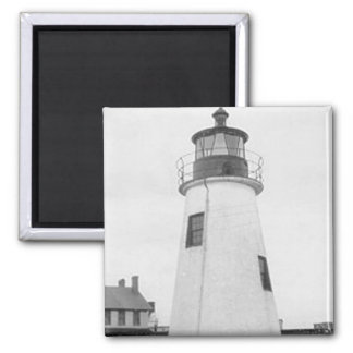 Lazaretto Point Lighthouse Magnet