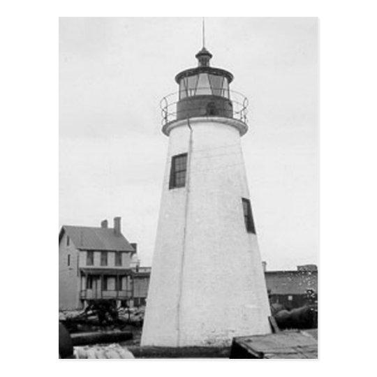 Lazaretto Point Lighthouse Postcard