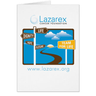Lazarex: Team for Life Note Card