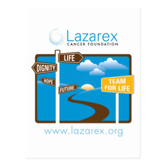 Lazarex: Team for Life Postcard