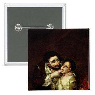 Lazarillo de Tormes, 1819 15 Cm Square Badge