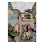 Lazarus and the Rich Man's Table Greeting Cards