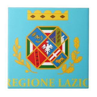 Lazio (Italy) Flag Tile