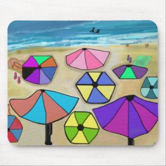 Lazy Beach Days Mousepad