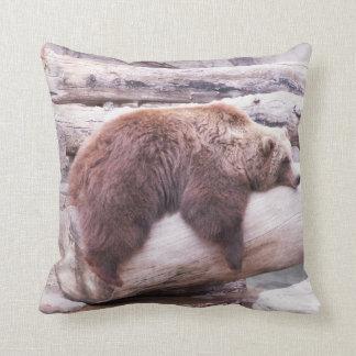Lazy Bear Cushion