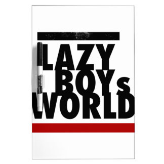 Lazy Boy Dry-Erase Whiteboards